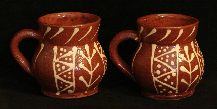 Lead-free redware by Pied Potter Hamelin