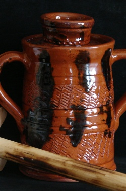 redware reproductions by Pied Potter Hamelin