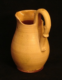 Shenandoah pitcher, back